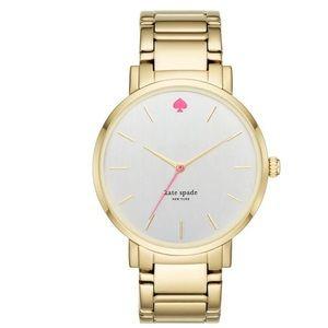 Kate Spade Gramercy Gold Watch 38mm